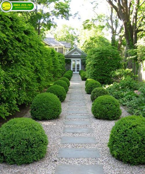 Nhà biệt thự sân vườn hiện đại