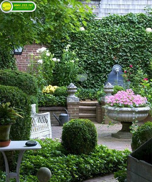 Công ty thiết kế và thi công tiểu cảnh sân vườn đẹp