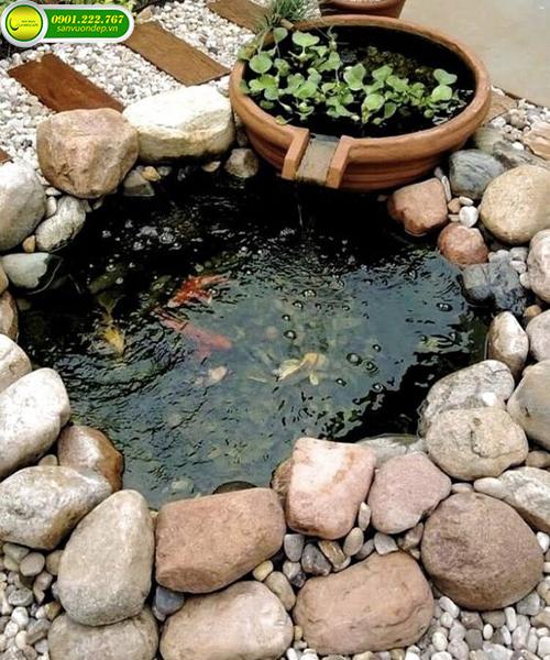 cải tạo sân vườn đơn giản