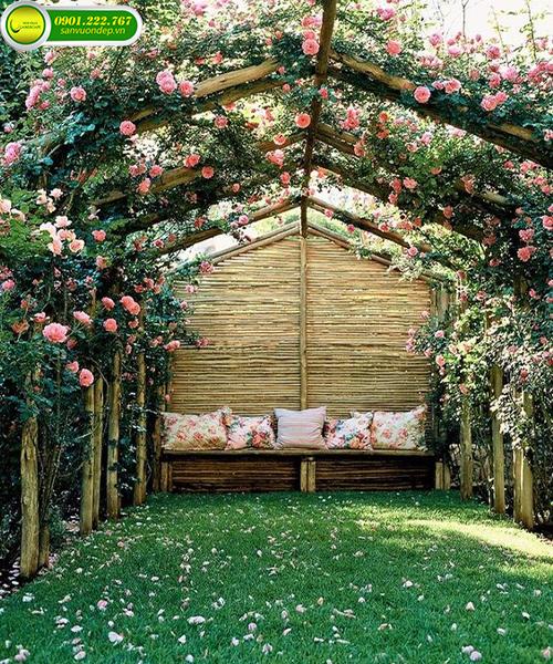 mẫu nhà đẹp sân vườn