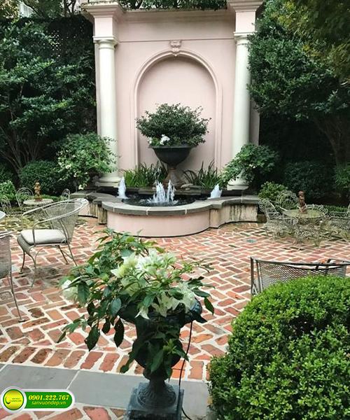 nhà đẹp sân vườn