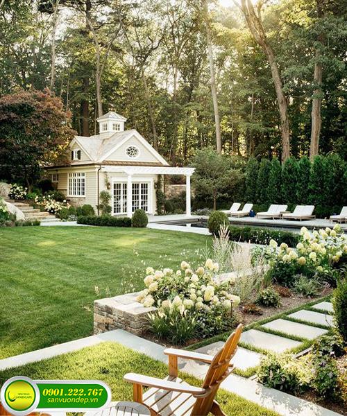 thi công trồng cây sân vườn