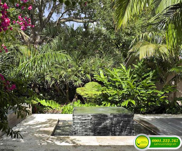 vườn tropical