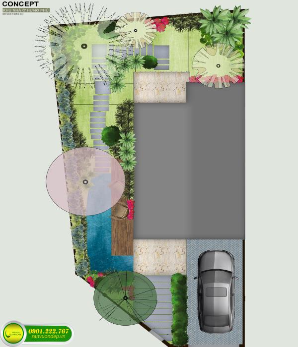 concept sân vườn